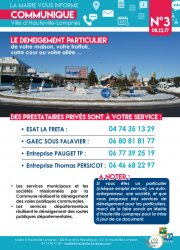 LA MAIRIE VOUS INFORME_N°3_DENEIGEMENT PRIVE